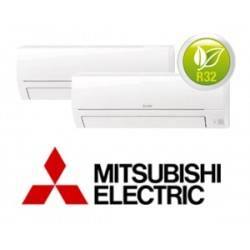 MITSUBISHI ELECTRIC MXZ-2HA40VF + MSZ-HR25VF + MSZ-HR25VF